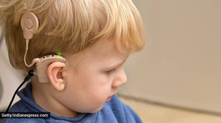hearing loss, hearing ability, hearing aids, cochlear implants, deafness, parenting, indian express, indian express news
