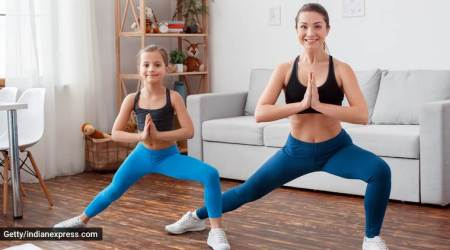 lockdown fitness, exercises to do with the entire family, physical and mental health in lockdown, fitness news, indian express, indian express news