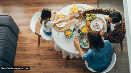 family meals, family meals and communication, obesity, eating habits, study, indian express, indian express news