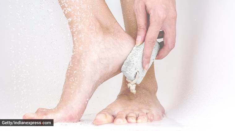 pumice stone, interesting hacks using the pumice stone, life hacks using pumice stones, pumice stones and skincare, indian express, indian express news