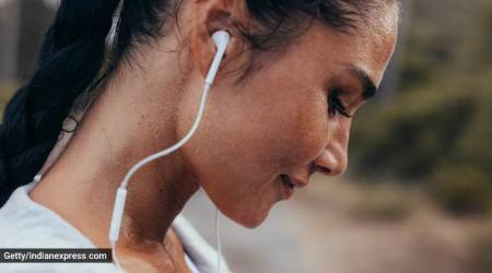 sweating, sweating and skincare, why sweating is good for the skin, indian express, indian express news