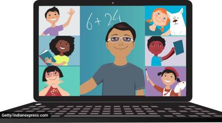 games to play on video call, what kids can play on video calls with friends, virtual games, parenting, indian express, indian express news
