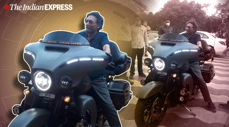 Chief Justice of India Sharad Arvind Bobde Harley Davidson superbike viral picure, twitter reactions