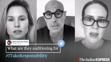I Take Responsibility, Hollywood celebrities, anti-racism campaign, black lives matter, Hollywood anti-racism video, I Take Responsibility video, Trending news, Indian Express news