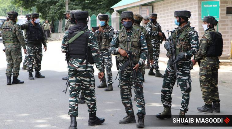 Kulgam encounter, militants killed, soldiers injured , Cordon and search operation, indian express news