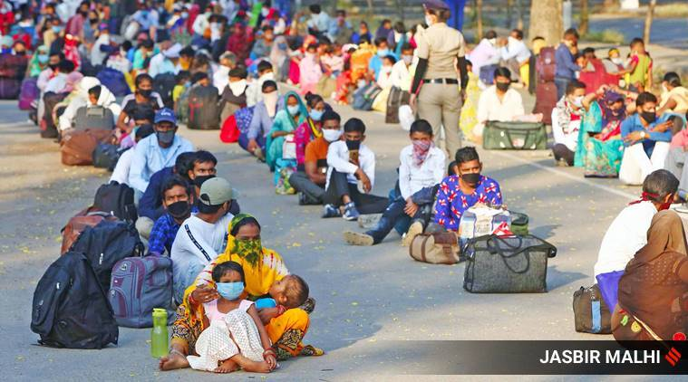 SC signal to Centre, states: 15 days to transport all stranded migrant workers