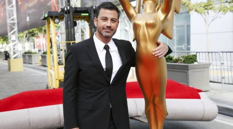 Jimmy Kimmel to host Emmys, first major awards show of ...