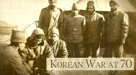 korean war 70th anniversary, 70 years of Korean war, Korean War, korea, Korea and India, India in Korean war, Korea history, Korea news, Indian Express