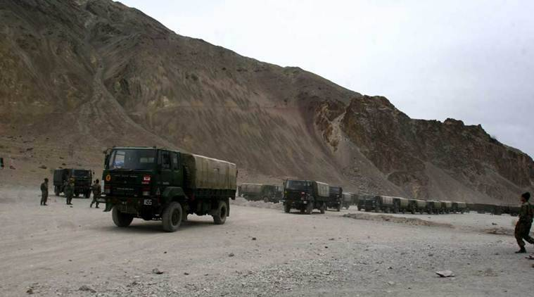 India-China border dispute, LAC tensions at Ladakh