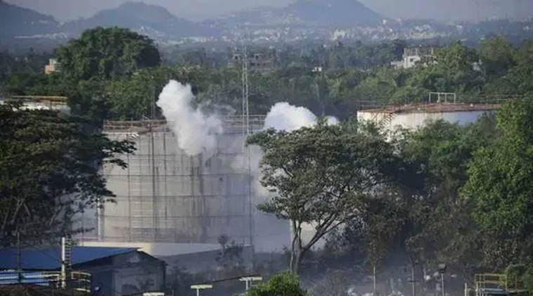 vizag gas leak, vishakhapatnam gas leak, lg polymers gas leak villages, vizag gas leak, lg polymers plant