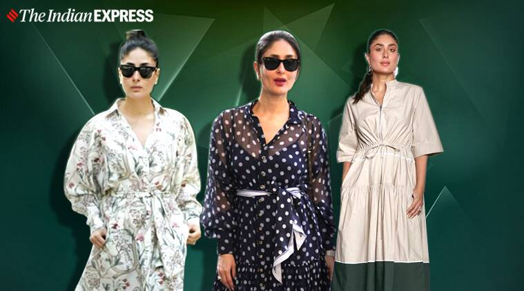 Kareena kapoor, kareena kapoor dress, kareena kapoor summer dress at home, celebrity lockdown dress, indian express news