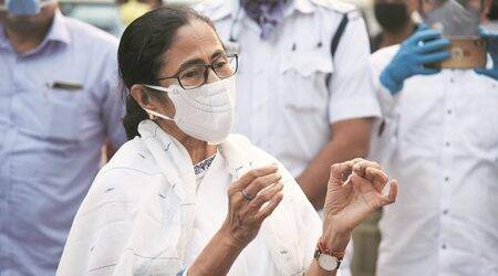 west bengal coronavirus updates, mamata banerjee, west bengal covid, west bengal covid treatment, cord blood treatment of covid patients in west bengal, indian express news