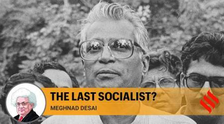 George Fernandes, socialism, india socialism, india migrant workers, india lockdown migrants, indira gandhi, jawaharlal nehru, labour laws, indian express news
