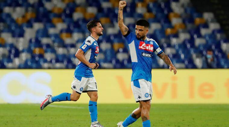 Napoli Reach Coppa Italia Final As Dries Mertens Breaks Club Record Sports News The Indian Express