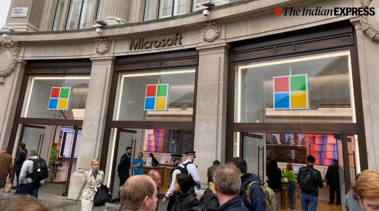 microsoft to train workers, microsoft linkedin workers training, unemployment coronavirus, covid job loss, latest news, indian express