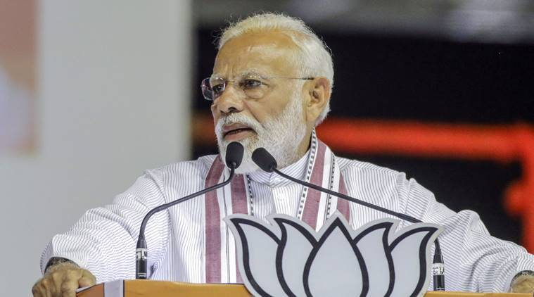 PM Garib Kayan Rojgar Abhiyan Yojna, Garib Kayan Rojgar Abhiyan Yojna, PM Modi in UP, PM Modi on Lucknow, India news, Indian Express