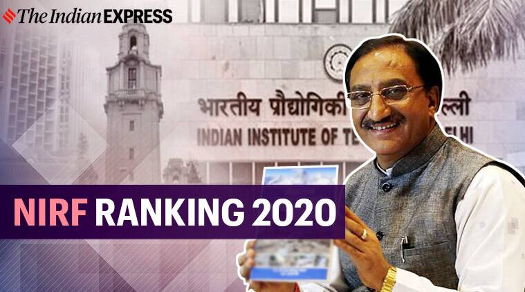 NIRF ranking 2020, nirf ranking, top indian college, best college india, best university india, best medical college india, top indian college, top it, neet, jee main, hrd minister, hrd ranking, president of india, hrd minister ramesh pokhriyal nishank, education news