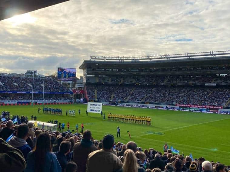 New Zealand, New Zealand covid free days, New zealand rugby crowd, world coronavirus update,