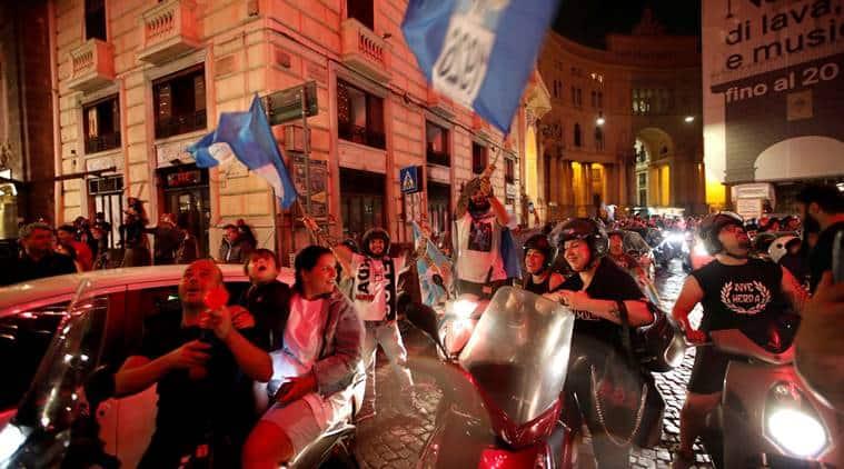 Napoli, Napoli social distancing, Napoli celebrate, Ranieri Guerra, Napoli fans, Coppa Italia, Napoli beat Juventus, football news, covid 19 pandemic
