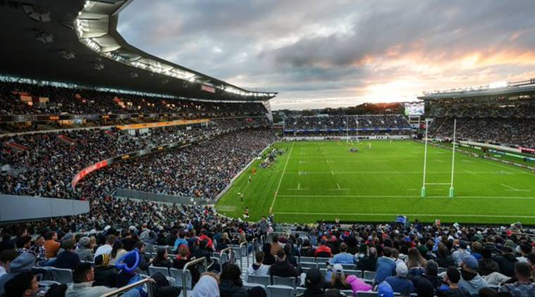 New Zealand Hails Covid Free Days With Record Rugby Crowd Sports News The Indian Express