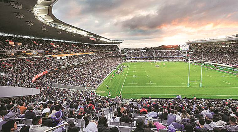New Zealand hails Covid-free days with record rugby crowd