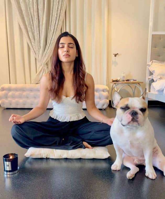 Samantha Akkineni yoga