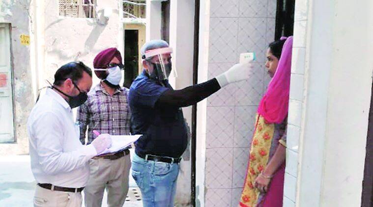 Punjab coronavirus cases, coronavirus cases Punjab, Punjab chief secretary, Vini Mahajan, India news, Indian Express