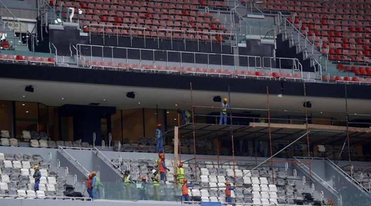 Qatar 2022 world cup, qatar 2022 world cup amnesty, qatar 2022 world cup stadium, qatar 2022 world cup workers payments issue