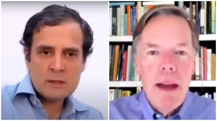 Rahul Gandhi, Nicholas Burns discuss 'disappearing' tolerance in India, US