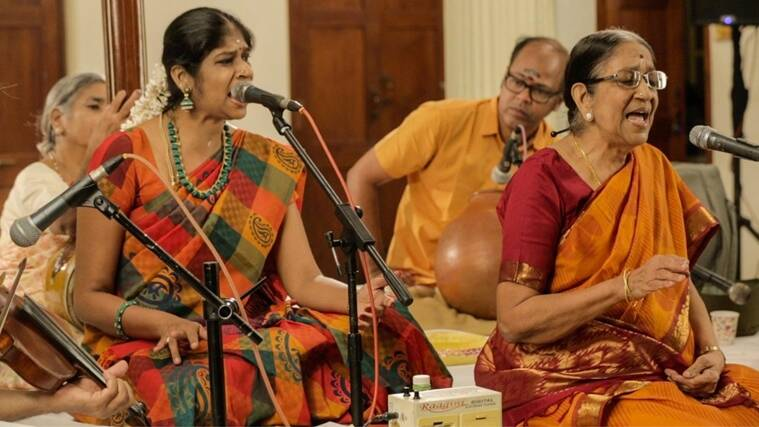 Vidushyi Rama Ravi, Dr Nanditha Ravi. N Guruprasad