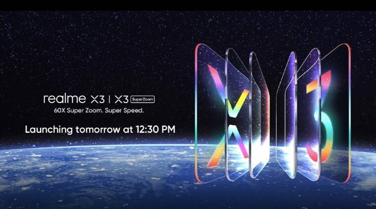 Realme X3, Realme X3 SuperZoom, Realme X3 launch LIVE UPDATES, Realme X3 SuperZoom launch LIVE UPDATES, Realme X3 launch event livestream, Realme X3 SuperZoom launch event livestream, Realme Buds Q, Realme Buds, Realme