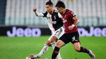 Juventus vs AC Milan, Coppa Italia final, Cristiano Ronaldo penalty miss, Andrea Conti tackle, Cristiano Ronaldo rare penalty miss, football news