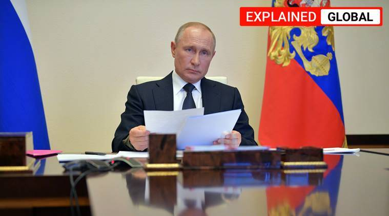 russia elections 2020, russia constitutional referendum, vladimir putin 2036, russia elections explained, indian express explained