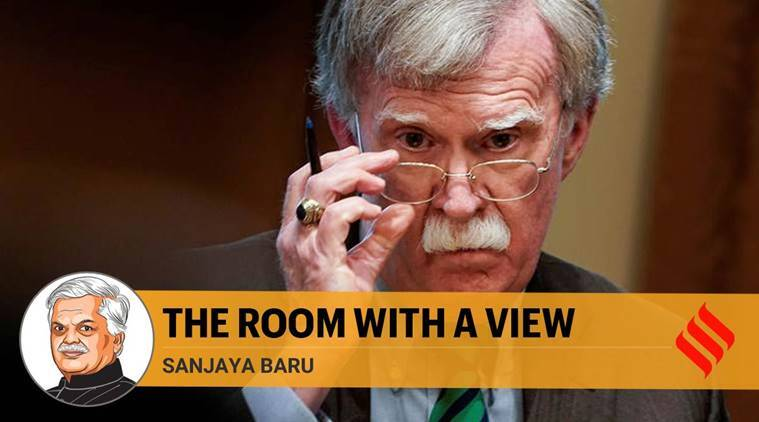 John Bolton book, john bolton book india, Donald Trump, Bolton Donald Trump, US NSA, Bolton book, John Bolton, Indian Express