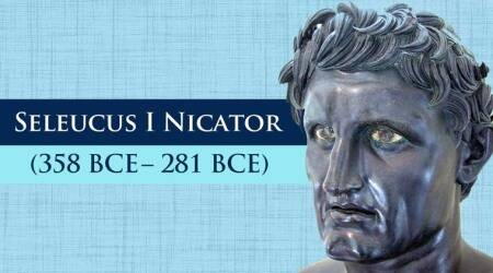 seleucus i nicator, seleucus greek ruler, seleucus chandragupta maurya, chandragupta maurya and nicator, chandragupta maurya seleucus war, india greece relations, ancient indo greek relations, who was seleucus, mauryan empire india