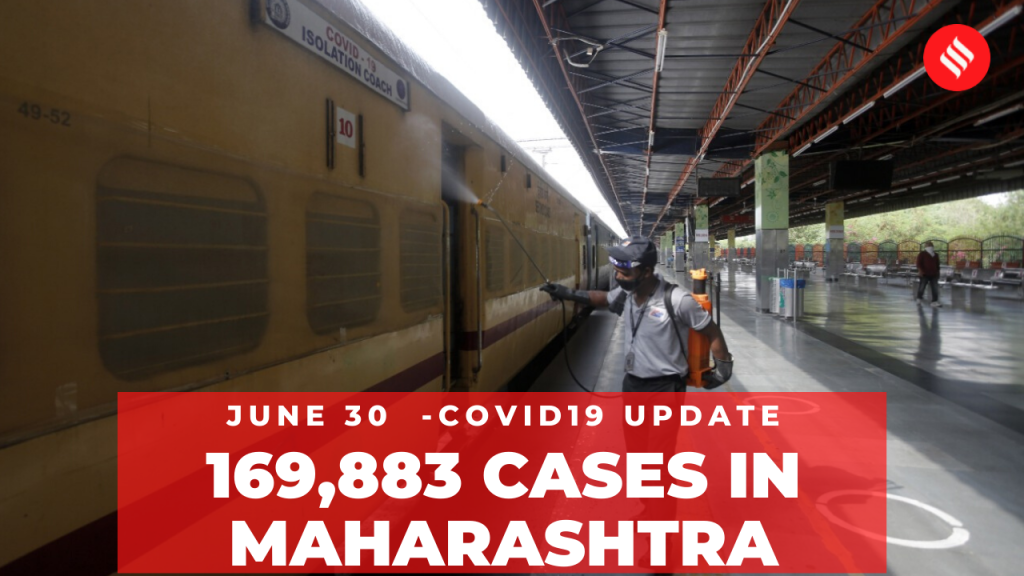 Coronavirus on June 30, 169,883 cases in Maharashtra | Covid-19 India