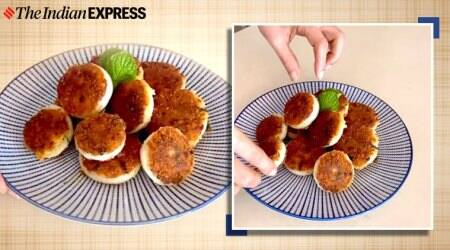 onion rings, easy recipes, leftover aloosabzi, how to use leftover sabzi, indianexpress, indianexpress, meghna's food masgic,