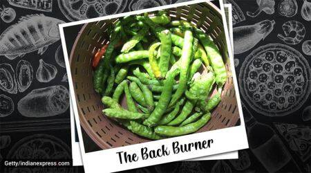 green chillies, green chillies chutney, chutney recipes, easy recipes, indian express lifestyle, the back burner