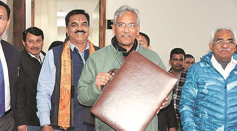 Trivendra Singh Rawat, special Budget session, Gairsain, summer capital, Uttarakhand news, indian express news