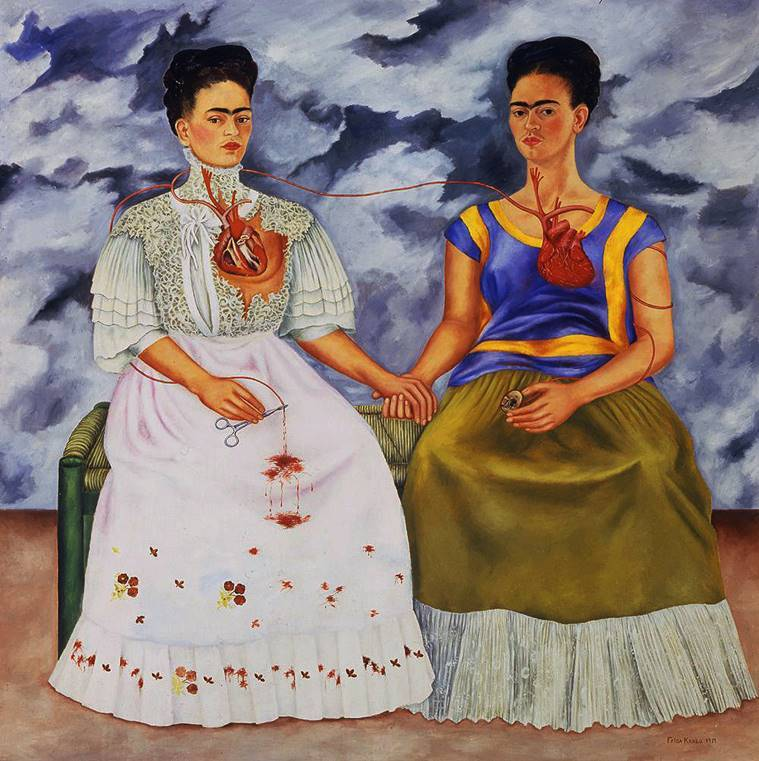 frida kahlo, Frida kahlo two fridas, frida kahlo artworks, indian express lifestyle