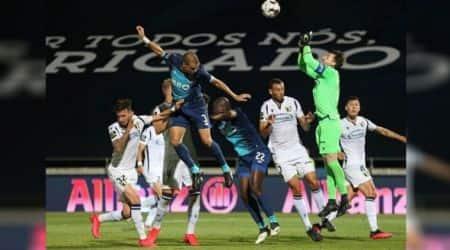 Portugal's Premier Liga, Leaders Porto suffered a shock 2-1 defeat at Famalicao, Portugal's Primeira Liga