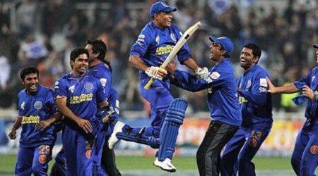 Yusuf Pathan, Yusuf Pathan IPL 2008, Yusuf Pathan Rajasthan Royals, Yusuf Pathan and Shane Warne, Yusuf Pathan batting