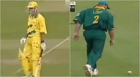 Herschelle Gibbs, Steve Waugh, Herschelle Gibbs dropped catch, Steve Waugh 120 vs South Africa, Waugh Gibbs 1999 world cup, cricket news