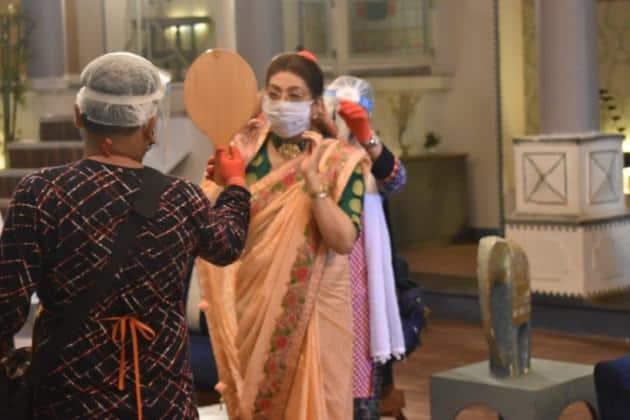 Yeh Rishta Kya Kehlata Hai shoot