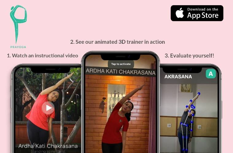 international Yoga day 2020, yoga day 2020, yoga tech startups, yoga apps, yogafi smart mat, Prayoga, Prayoga app, YogiFi