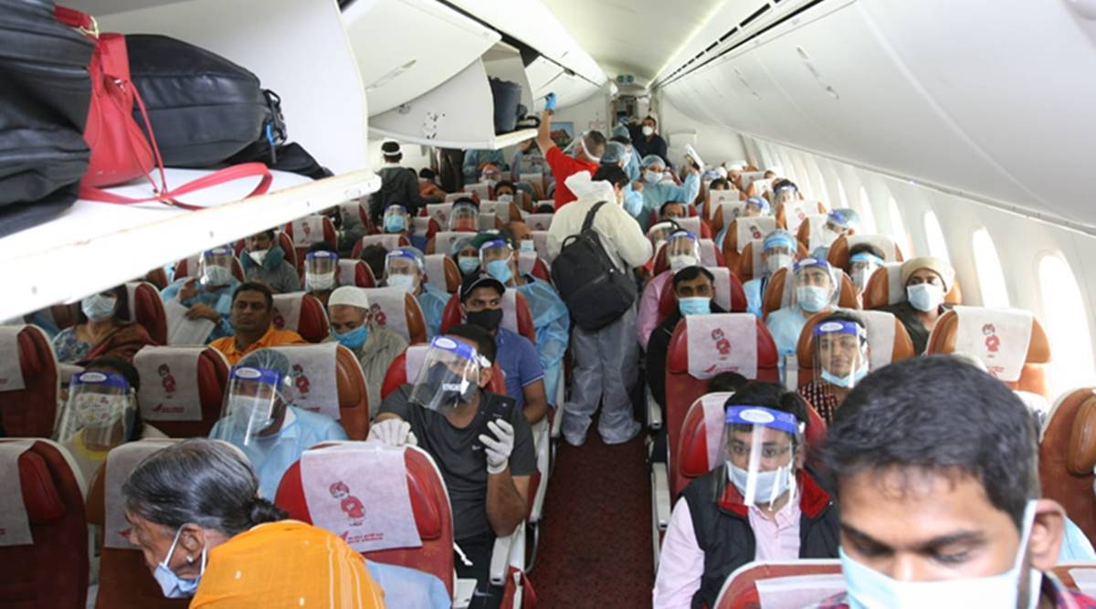 Vande Bharat Mission, Phase 3: Air India to offer more seats after surge in  demand for tickets | coronavirus outbreak News,The Indian Express