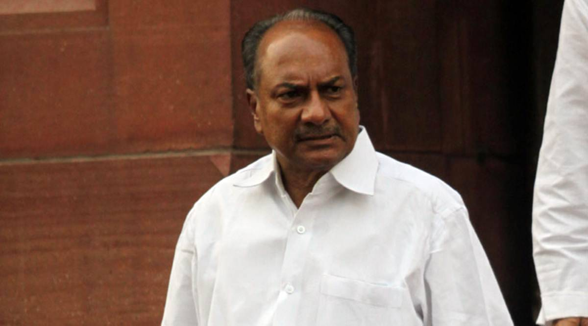 Disengagement in areas of eastern Ladakh is surrender to China: Antony - The Indian Express