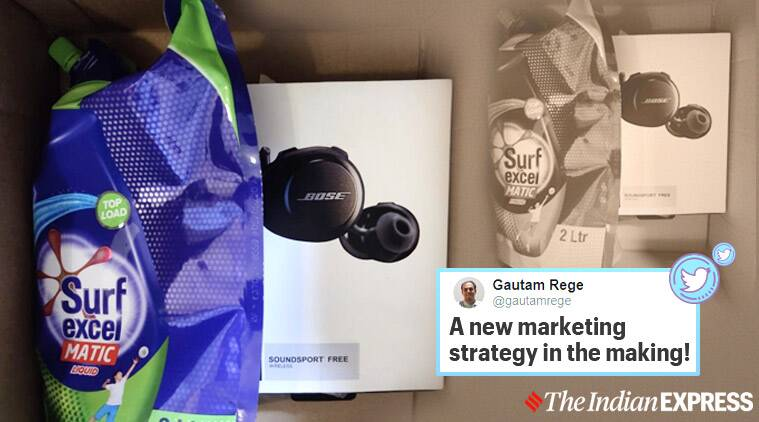 Amazon, Amazon order, headphones worth Rs 19,000, Skin lotion, online shopping, trending news, Indian Express news