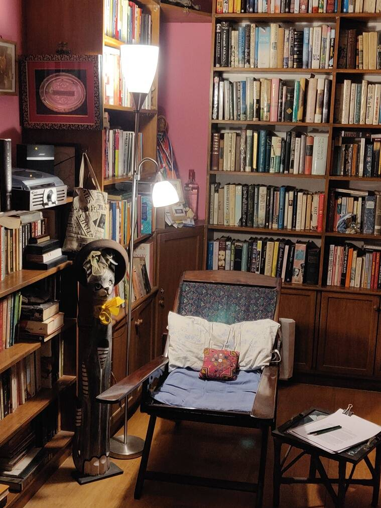 anita nair books, writers and their workspaces, covid19, indianexpress.com, indianexpress, corona,