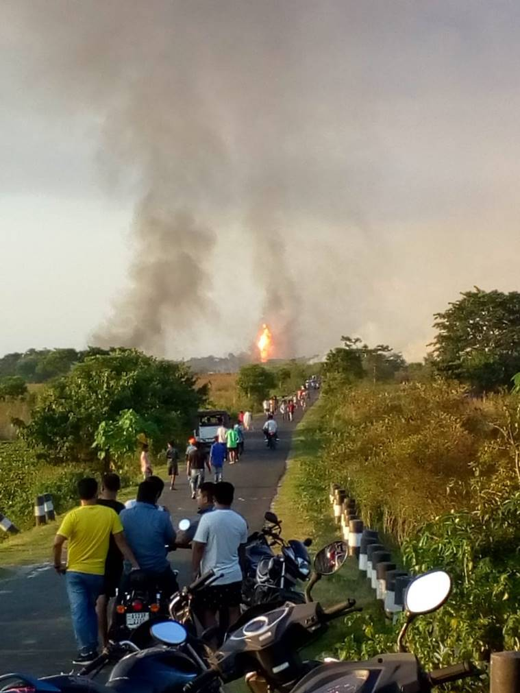 assam natural gas leak, assam natural gas leak oil, assam natural gas leak blowout, assam news, assam chief minister, latest news